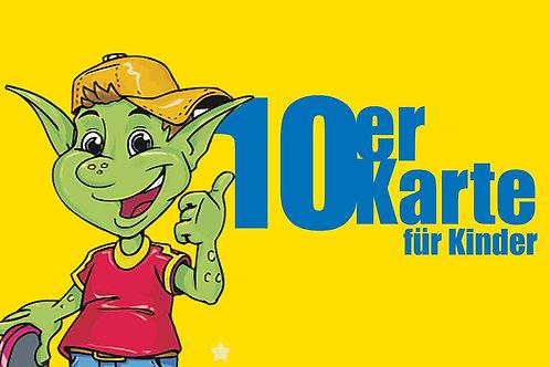 10er Karte für Kinder