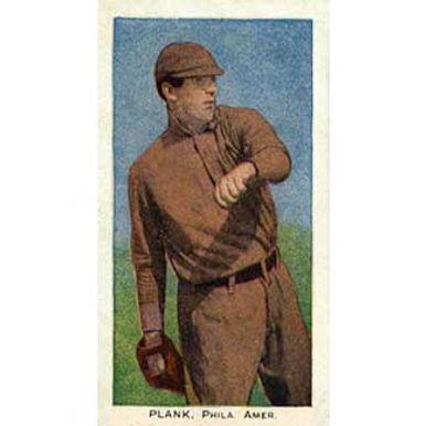 Ed Plank - 1908 Caramel E93