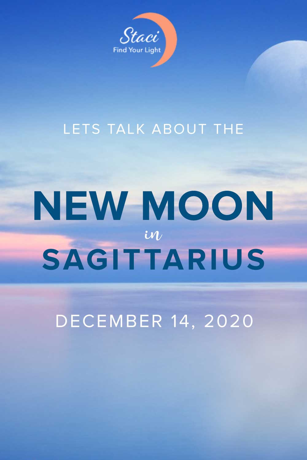 New Moon in Sagittarius, December 14, 2020