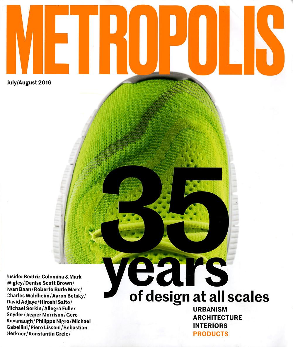 Metropolis Magazine July/August 2016