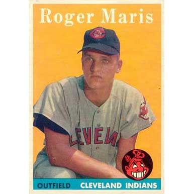Roger Maris   - 1958 Topps