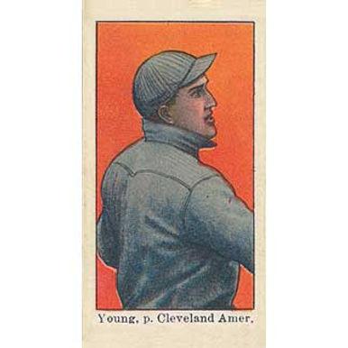 Cy Young -  1909 Caramel E101