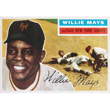 Willie Mays  - 1956 Topps
