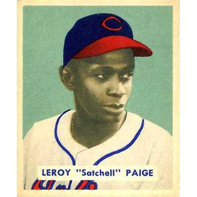 "Leeroy ""Satchel"" Paige    - 1949 Bowman"
