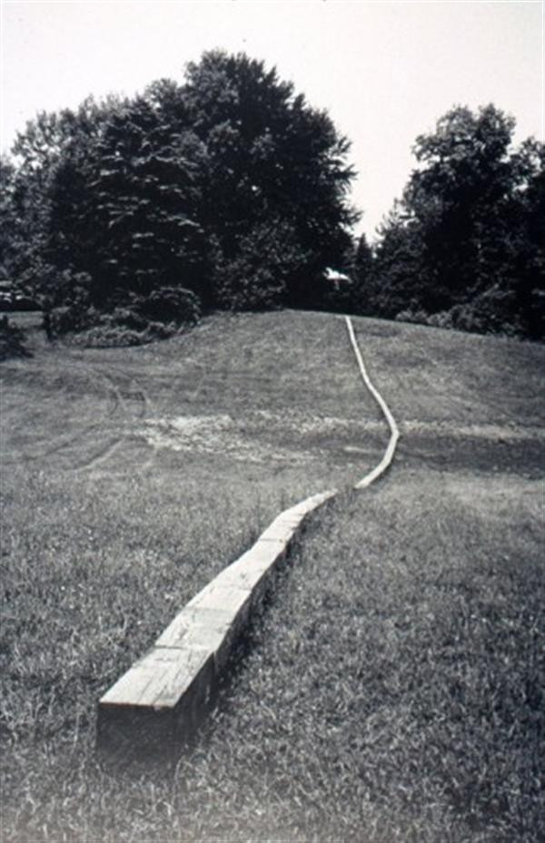 Carl Andre: Secant  Photo: The Orchard Project