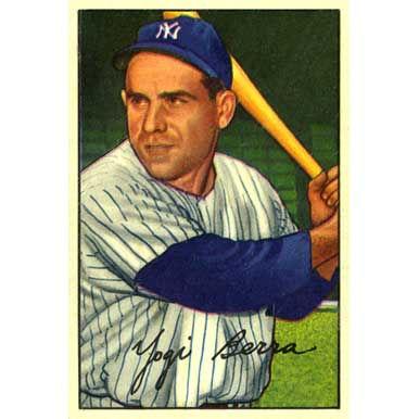 Yogi Berra   - 1952 Bowman