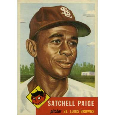 Satchell Paige   - 1953 Topps