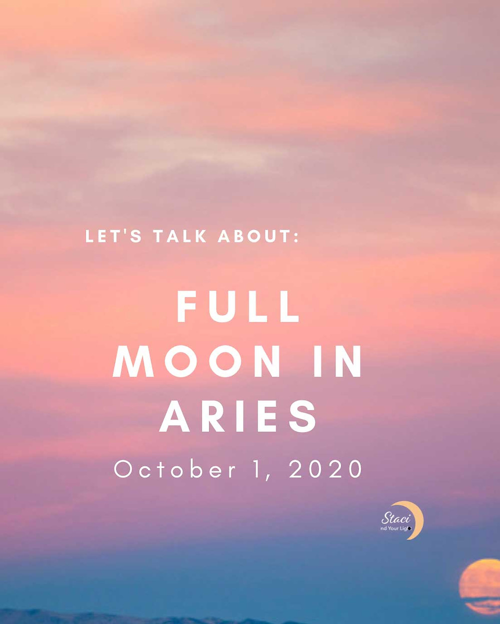 Aries Full Moon: Good Energy Only!