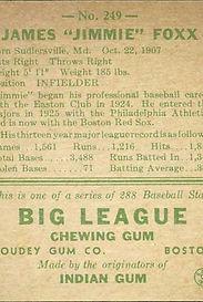1938 Goudey Baseball