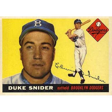 Duke Snider   - 1955 Topps