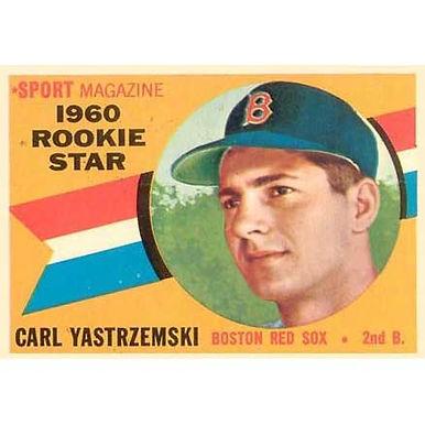 Carl Yastrzemski  - 1960 Topps