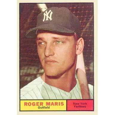 Roger Maris  - 1961 Topps