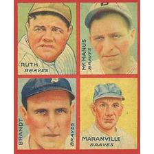 1935 Goudey Baseball Cards