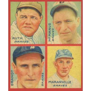 Braves    - 1935 Goudey