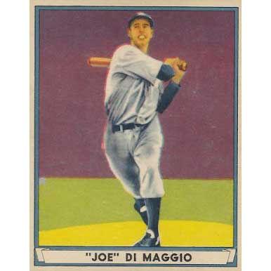 Joe DiMaggio   - 1941 Play Ball