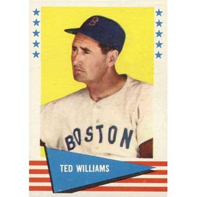 Ted Williams  - 1961 Fleer