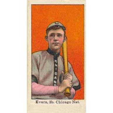 Johnny Evers - 1915 Caramel E106