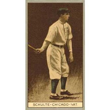 Frank Schulte 1912 Tobacco T-207
