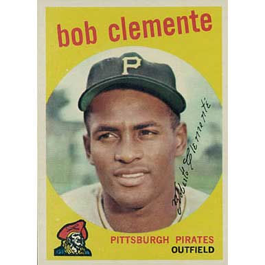 Bob Clemente   - 1959 Topps