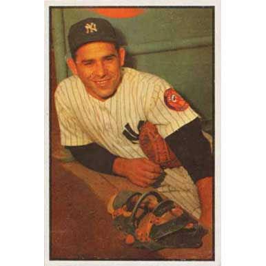 Yogi Berra   - 1953 Bowman