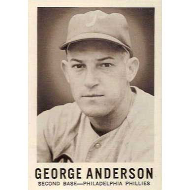 George Anderson   - 1960 Leaf