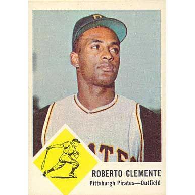 Roberto Clemente  - 1963 Fleer