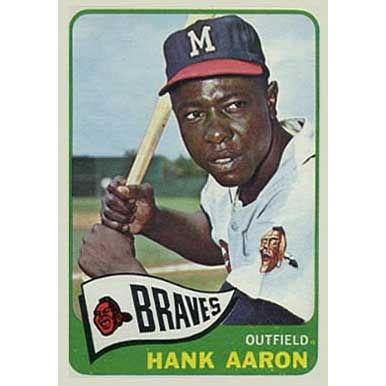 Hank Aaron  - 1965 Topps