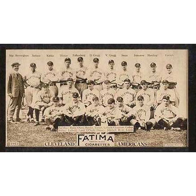 Cleveland Americans - 1913 Tobacco T-200