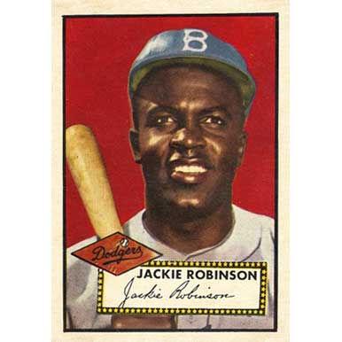 Jackie Robinson   - 1952 Topps