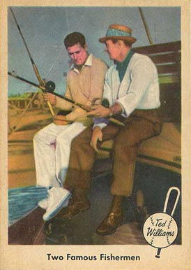 Two Famous Fisherman   - 1959 Fleer