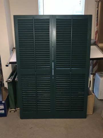 american shutter co hunter green shutter
