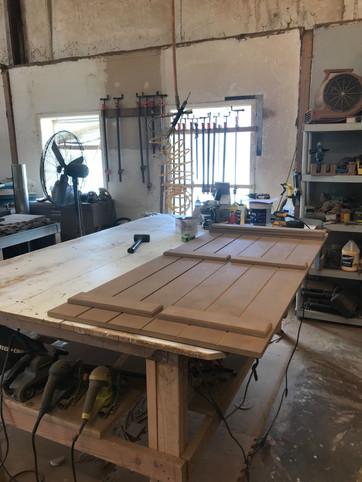american shutter co wood shutter on tabl