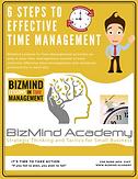 BizMind Time Management Checklist (6 Ste