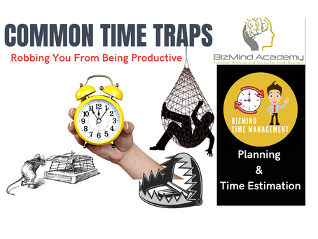 "Free Ebook - ""Common Time Traps Robbing You From Being Productive"""