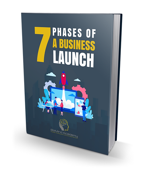 BizMind 7 Phases of a Business Launch - eBook