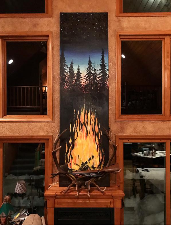 Fire Mural
