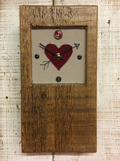 Baby Block Valentine Clock