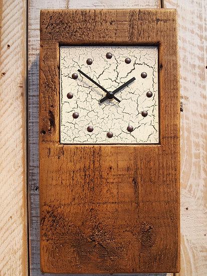 Crackle Baby Block Clock