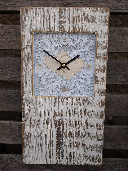 Wedding Baby Block Clock