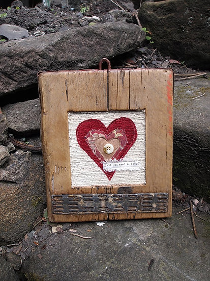 Heart Scaffold Wall Art