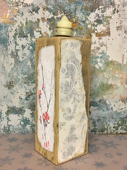 Decoupage Candle Holder
