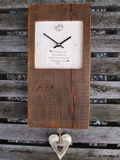 Wedding Button Clock