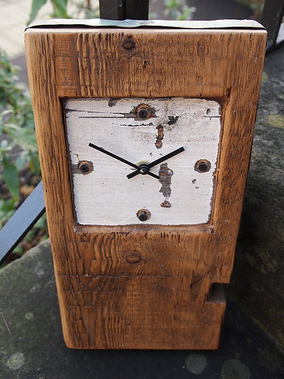 Beach Baby Block Clock