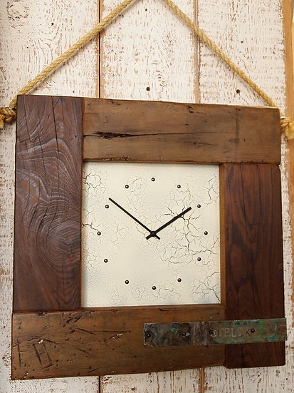 Trade Puzzleteen Clock - Vintage Crackle