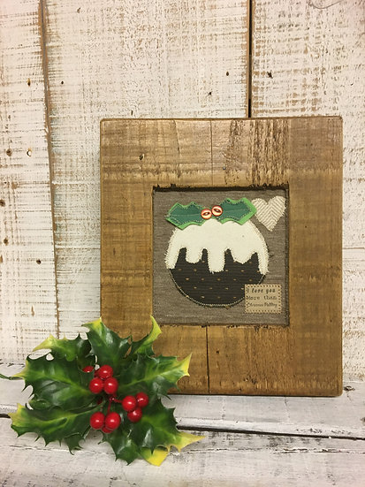 Christmas Pudding Wall Hanging