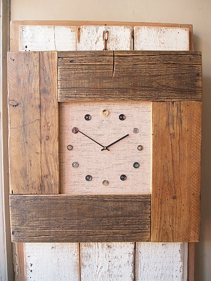 Heart Puzzle Clock