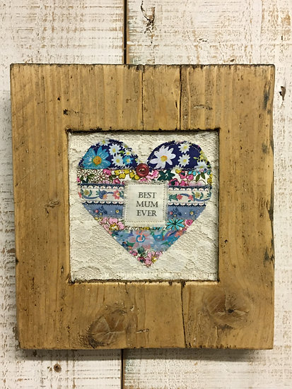 Mother's Day Heart Scaffold Wall Hanging