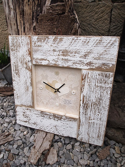 Wedding Mini Puzzle Clock