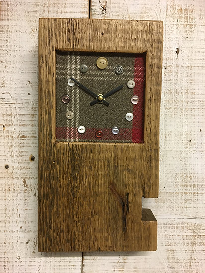 Baby Block Clock