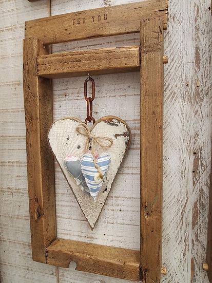 Heart 3D Wall Frame